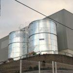 tanques de agua para la protección contra incendios
