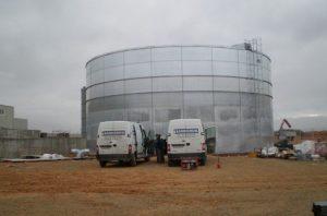 Tanque de agua en Albacete