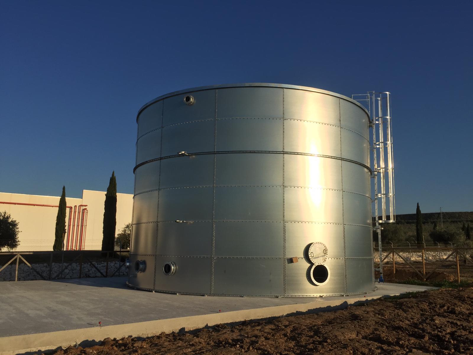 Tanques de Agua para uso Agrario