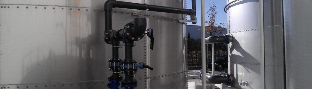 tanques para el sector vinícola y aceitero